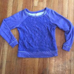 Mossimo Supply Co. Cobalt blue sweatshirt size: Sm